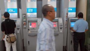Geldautomaten van Bank BNI