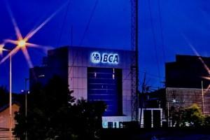 Een grote vestiging van de Bank BCA in Jakarta