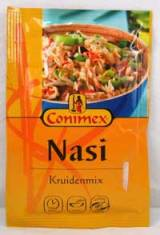 Een kruidenmix voor 'nasi'. Eigenlijk dus voor nasi goreng.