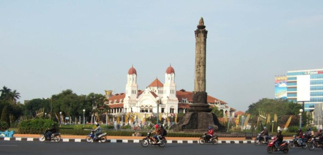 De Grote Postweg in Semarang
