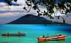 Het toerisme groeit op Sulawesi: nationaal park Bunaken (Noord-Sulawesi) is erg populair