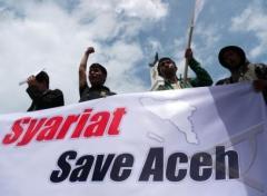 Een demonstratie vóór de sharia (oktober 2012)