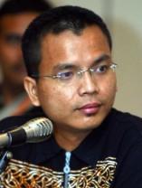 Minister Denny Indrayana
