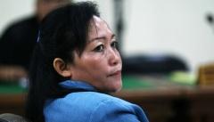 Kartini Julianna Marpaung in de rechtbank tijdens haar veroordeling.