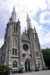 De kathedraal van Jakarta
