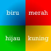 Vier kleuren in het Indonesisch