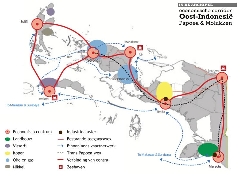 De economie van papoea en de molukken het onbekende oosten in de archipel - Corridor ontwikkeling ...