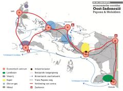 Masterplan voor Papoea en de Molukken (klik voor een grote versie)