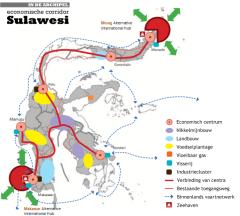 Masterplan voor Sulawesi (klik voor een grote versie)