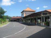 Het uitgestorven vliegveld van Bali tijdens de Dag van de Stilte