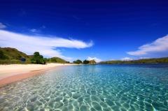 Potentie voor toerisme: het roze strand van Komodo