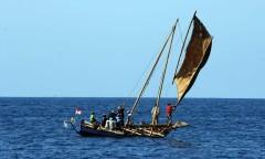Vissers in de provincie Oost-Nusa Tenggara