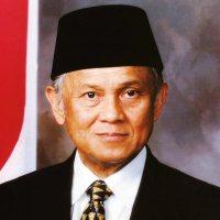 Habibie in 1998, tijdens zijn vicepresidentschap.