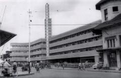 Hotel Savoy Homann vlak na de bouw.