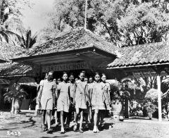 Kartinischool in Jakarta, net na de onafhankelijkheid.