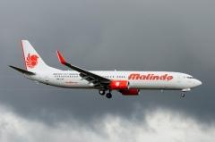 Een Boeing 737-900ER van Malindo Air.