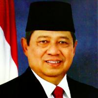 Staatsieportret van de zittende president Susilo Bambang Yudhoyono.