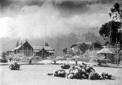 Hotel en sanatorium Tosari in het jaar 1918