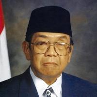 President Abdurrahman Wahid in 2001.