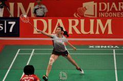 Sigarettenmerk Djarum als hoofdsponsor van het Indonesia Open-badmintontoernooi.