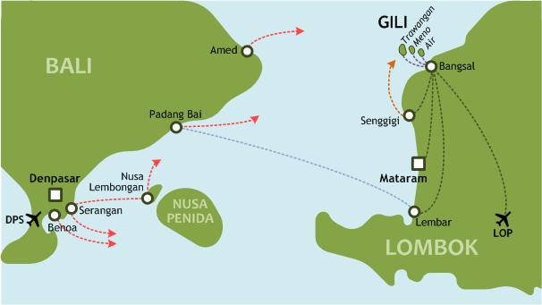 Bali Gili Lombok