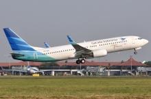 Garuda op vliegveld CGK