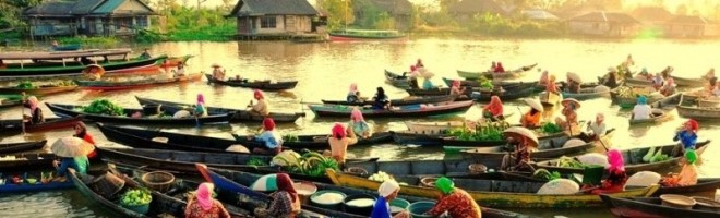 Floating-Market-of-Banjarmasin