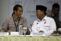Jokowi en Prabowo