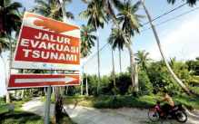 evacuatieroute-tsunami