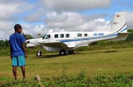 papoea-vliegtuigje
