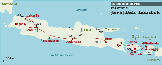 reisroute-java-bali-lombok-kaart