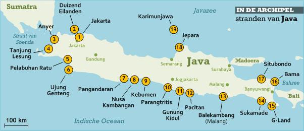 stranden-van-java-kaart