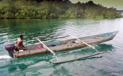 Longboat Raja Ampat