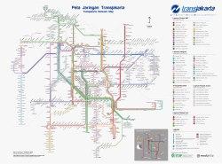 TransJakarta netwerk