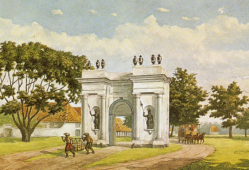 Paardentram Batavia tekening Amsterdamse poort.PNG
