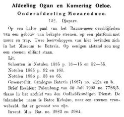 Oudheidkundig verslag 1914 tempel Jepara.PNG