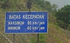 Snelheidslimiet tolweg