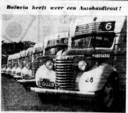 Batavia heeft weer autobus