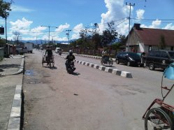 Weg in Wamena
