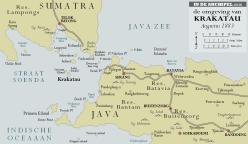 Krakatau kaart 1883