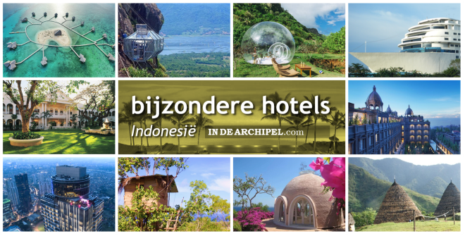 Bijzondere hotels Indonesie