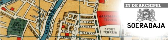 Plaatje straatnamen Soerabaja klein