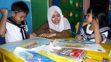 TK kleuterschool in Pontianak