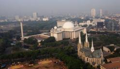 Istiqlal kathedraal Jakarta