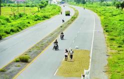Oude tolweg Porong