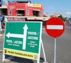 Verkeersbord Jateng