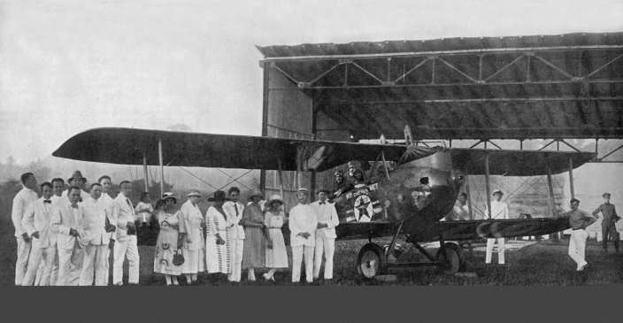 Vliegveld Antjol 1922