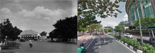 Goebengboulevard Jalan Raya Gubeng Surabaya