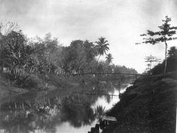 Goenoeng Saharie kanaal Batavia