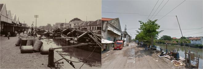 Oosterkade Kalimas Timur Surabaya